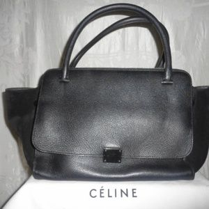 CELINE Medium 2 Handle Trapeze Purse